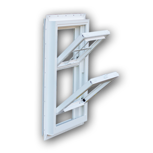 Double Hung Tilt out side view